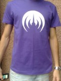 PURPLE/WHITE MAGMA T-SHIRT
