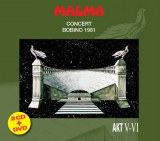 MAGMA BOBINO 1981 NEW PACKAGING 2CD+DVD