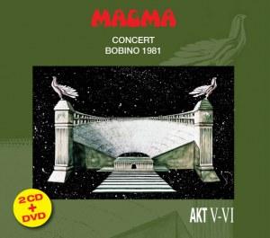 MAGMA BOBINO 1981 NOUVELLE PRÉSENTATION 2CD+DVD
