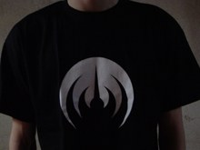 MAGMA T-Shirt black, white logo