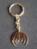Golden Magma logo keyholder