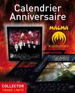 2009 MAGMA CALENDAR