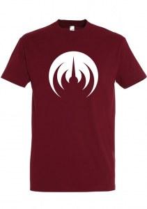 T-Shirt MAGMA bordeaux sigle blanc