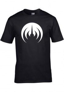 T-shirt homme MAGMA, noir sigle blanc